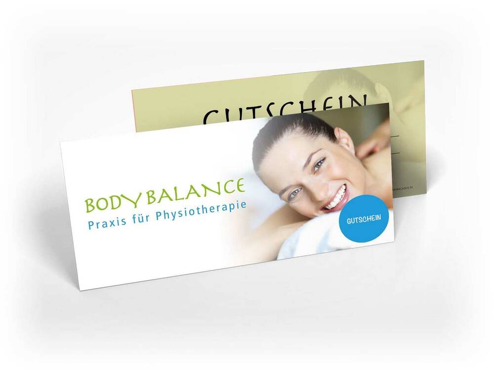 Wellnessgutschein - BODY BALANCE Physiotherapie GbR